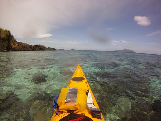 Sea Kayaking in Indonesia.