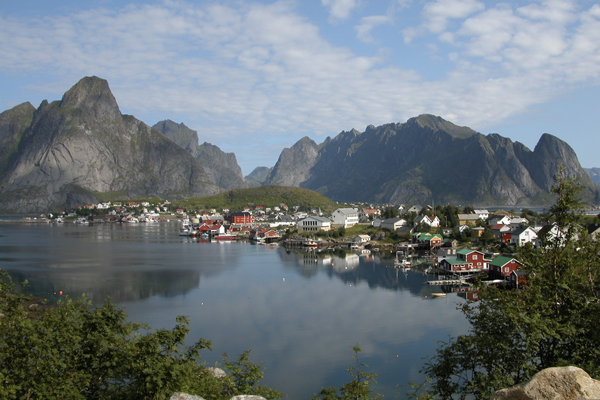 Reine town in Lofoten with Crossing Latitudes