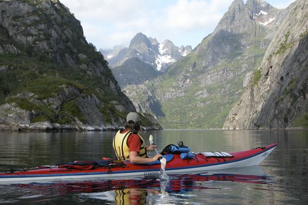 Sea Kayaking in the Trollfjord with Crossing Latitudes