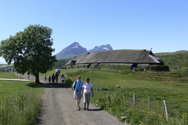 The Viking Museum in Borg with Crossing Latitudes