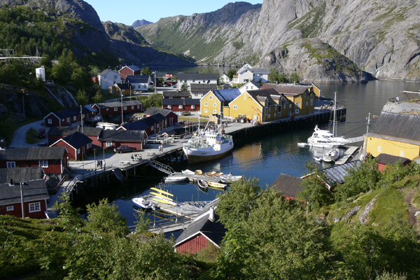 Nusfjord in Lofoten with Crossing Latitudes