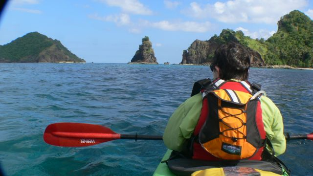 Sea Kayaking Sulawesi, Indonesia.