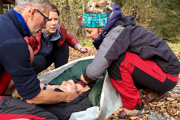 Wilderness First Aid Courses
